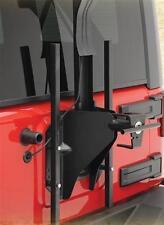 Smittybilt SRC Oversize Tire Carrier for 2007-2017 Jeep Wrangler JK 2743 Black