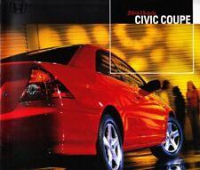 2004 04 Honda Civic Coupe original sales brochure MINT