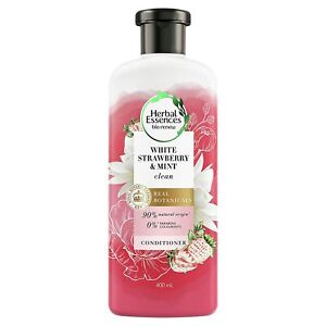 Herbal Essences White Strawberry & Sweet Mint CONDITIONER Pack of 400ML