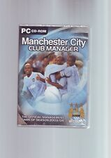 MANCHESTER CITY CLUB MANAGER - PC FOOTBALL GAME - FAST POST - NEW & SEALED