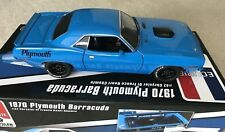 1:18 ACME A1806102TG 1970 Plymouth T /A Barracuda Tom's Garage LE102pcs.