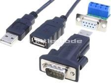 USB2.0-RS485 Adattatore USB-RS-485 D-SUB 9pin Plug USB Una spina 0.8 M Nero DA-70157