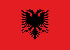Flamuri i Shqipërisë Fahne Albanien Skënderbeu Flagge Albaniens shqiptar Albaner
