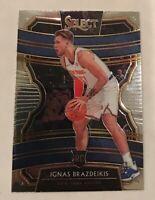2019-20 Select Concourse Ignas Brazdeikis NY Knicks Rookie Card RC #52