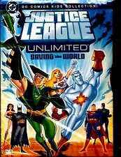 NEW DVD // Justice League Unlimited  //  SAVING THE WORLD //  70 min