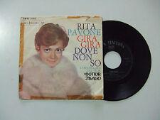 Rita Pavone–Gira Gira/Dove Non So-Disco Vinile 45 Giri 7 ITALIA 1967