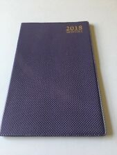 2018 Dated Day Planner Calendar Appointment Book MONTHLY PURPLE 5X8