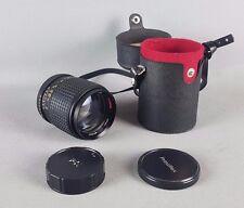 PRINZFLEX AUTO 135 mm 1:2 .8 Rápido Buen Estado con Carcasa de Lente de retrato