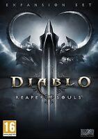 Diablo III - Reaper of Souls (Mac/PC DVD) BRAND NEW SEALED