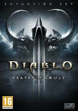 Diablo III - Reaper of Souls (Mac/PC DVD) BRAND NEW SEALED