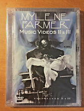 Mylene Farmer Music Videos II, III Russian PAL DVD - NEW