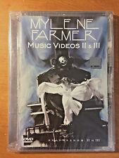 Mylene Farmer Music Videos II, III Russian PAL DVD - NEW
