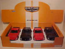 4 Pack of 1972 Datsun 240Z Fairlady Die-cast Car 1:24 Jada Toys 8 inch Black Red