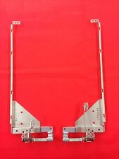 Toshiba Qosmio G50 Left & Right Hinges + Side Rail Supports K80804 K80722 LW