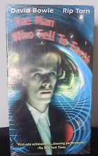The Man Who Fell To Earth VHS SCI-FI David Bowie Rip Torn New