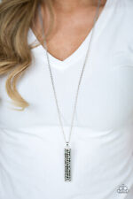 Paparazzi Jewelry Necklace Sets - Big Shot Shimmer Silver