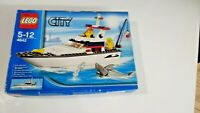 LEGO City Harbour Fishing Boat Set (4642) Launch Year 2011 NEW Damaged Box