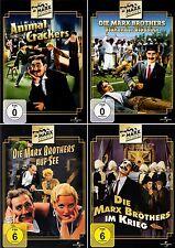 4 DVDs * DIE MARX BROTHERS - FILM SET - Chico Harpo Groucho Zeppo # NEU OVP +