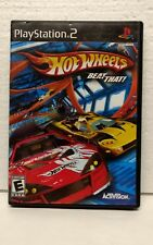 Hot Wheels: Beat That DISC & Case Sony PlayStation 2 PS2 TESTED See Pictures!