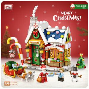 LOZ Mini Christmas House (788 Pcs) Mini Nano Building Blocks (1223)