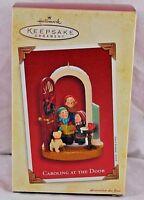 Hallmark Keepsake Ornament Caroling At The Door  2003