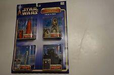 Star Wars Value 4-Pack Yoda, Anakin Skywalker, Darth Maul, Jango Fett ATOC NIP