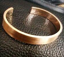 Men's 18K Rose Gold Very Thick Cuff Bracelet