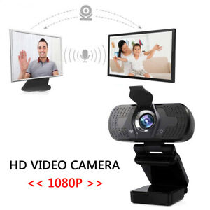 1080P HD 3MP Webcam Auto Focus Microphone USB Web Camera for Live Video