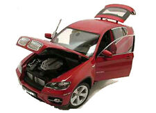 Welly 1/18 Scale BMW X6 Red Diecast Car Model 18031