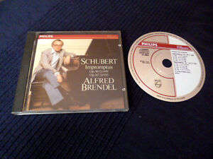 CD Alfred Brendel SCHUBERT Impromptus PHILIPS Piano PDO West Germany nm Klavier