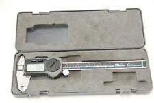 """Brown & Sharpe TWN-CAL digital caliper 6"""" with battery and case- tested"""