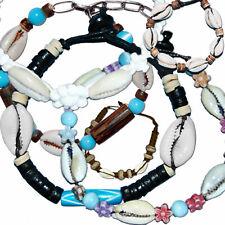SEESTERN Armband / Armbänder mit Kauri Muschel Design, Muschel Modeschmuck/01-57