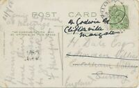 "GB VILLAGE POSTMARKS ""KILLARNEY"" (Kerry, Ireland) CDS 24mm 1908 ""CATERHAM-VALLEY"