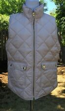 JCrew Excursion Quilted Down Vest L Light Amethyst NWT $120