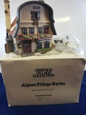 Metterniche Wurst- Alpine Village Series- Department 56- 1992 Christmas Village