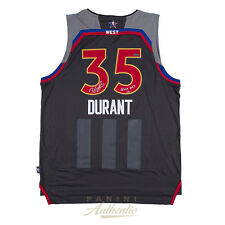 "Kevin Durant Autographed 2017 All Star Swingman Jersey w ""NOLA 17"" Inscription"