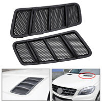 Front Right+Left Hood Air Vent Grill Fit For Mercedes GL350 GL450 GL550 2012-15