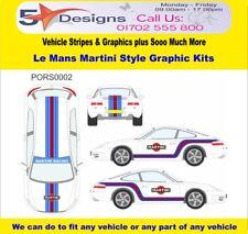 PORSCHE 911 (996) 1998-2005 Le Mans Martini Race Rally Logo Graphics Kit 2
