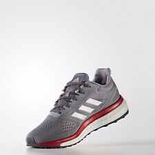 New Men's Adidas Sonic Drive M - BB3418 - Size 12 - Grey/Silver/Red/White