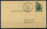 Cartolina Navale 1931 Intero postale 100% S.S. Pres. Madison
