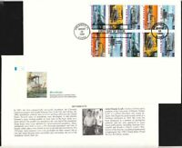 1996 Riverboats Sc 3095a first day cover Fleetwood jumbo