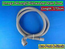 DeLonghi,Omega Dishwasher Spare Parts Drain Hose Replacement 1700x37mm (DA20)New