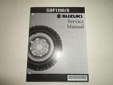 2001 2002 2003 2004 2005 Suzuki GSF1200/S Service Repair Shop Manual NEW Factory