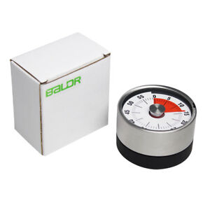 Kitchen Timer 60 Minutes Visual Timers Oven Magnetic Counter Mechanical Time