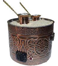 Authentic TURKISH ARABIC COPPER ELECTRIC COFFEE MAKER in HOT SAND HEATER MACHINE