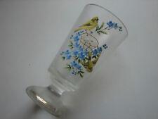 antikes Teeglas, Böhmen, Emaillemalerei, Jugendstil, um 1900 (48)