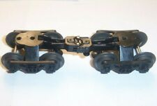 Lionel Modern LLC Era Parts 2 Freight Car Plastic Trucks /  Metal Wheels