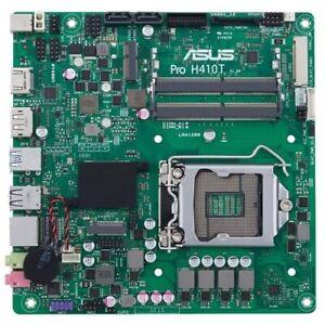 Asus Pro H410T/CSM Desktop Motherboard - Intel Chipset - Socket LGA-1200 - Mini