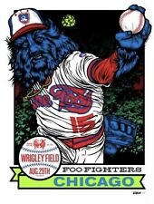 2015 Foo Fighters Wrigley Field Poster