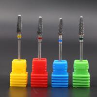Nail Art Drill Bit Steel Carbide Burr Electric Nail Tool Tip Accessories